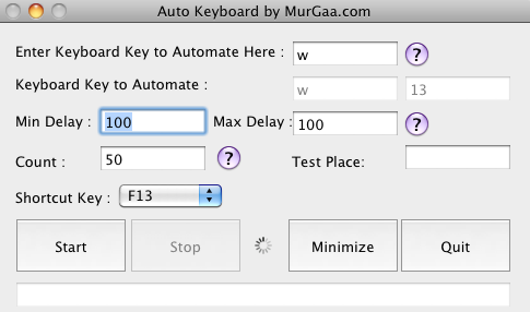 Automate Keyboard with MurGaa Auto Keyboard Utility