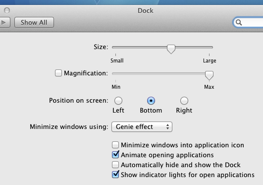 View / Change Icon of Mac OS X Dock