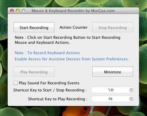 Mouse Recorder Mac