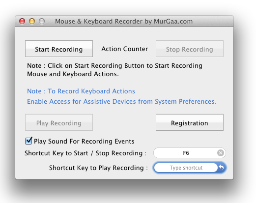 Macro Recorder for Apple Macintosh