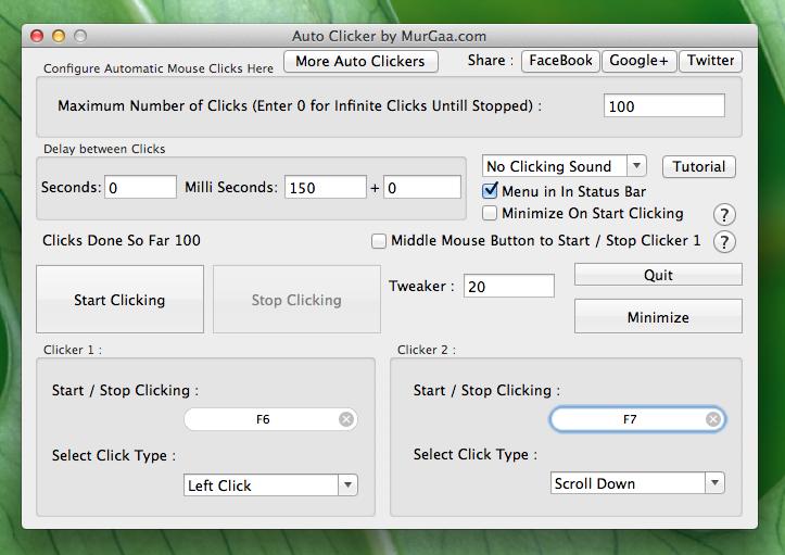 Key Presser and Auto Clicker for Mac