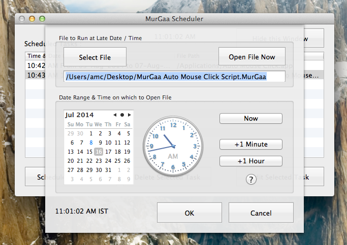 Macintosh Application to Schedule Tasks | Mac Automation Software